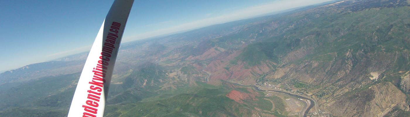Skydiving in Glenwood Springs CO