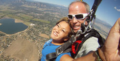 Tandem Skydiving with Roaring Fork Skydivers